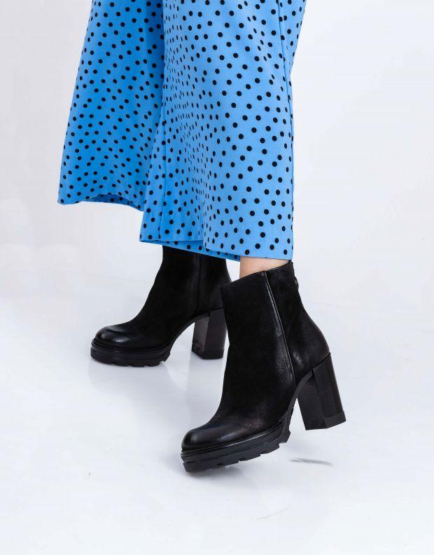 נעלי נשים - Mjus - מגפוני עקב AMARANTA - שחור