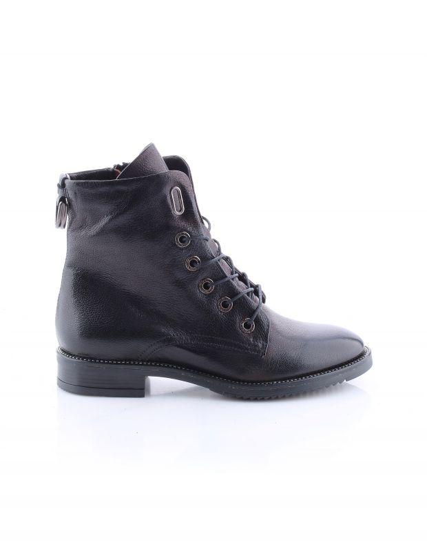 נעלי נשים - Mjus - מגפוני ZARKO שרוך - שחור