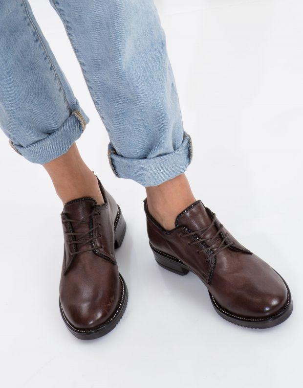 נעלי נשים - Mjus - נעלי ZARKO - חום כהה