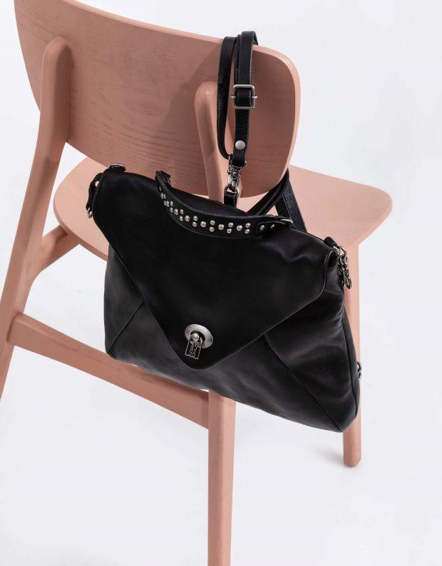 נעלי נשים - A.S. 98 - תיק גב מעטפה - שחור