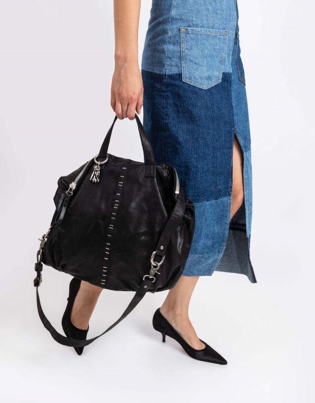 נעלי נשים - A.S. 98 - תיק סיכות מתקפל - אפור כהה