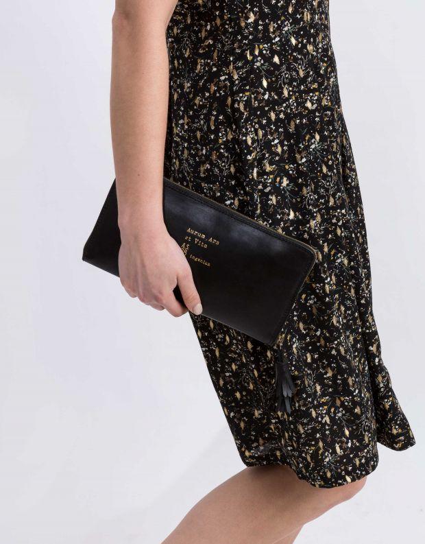נעלי נשים - A.S. 98 - תיק קלאטצ'  BUSINESS - שחור