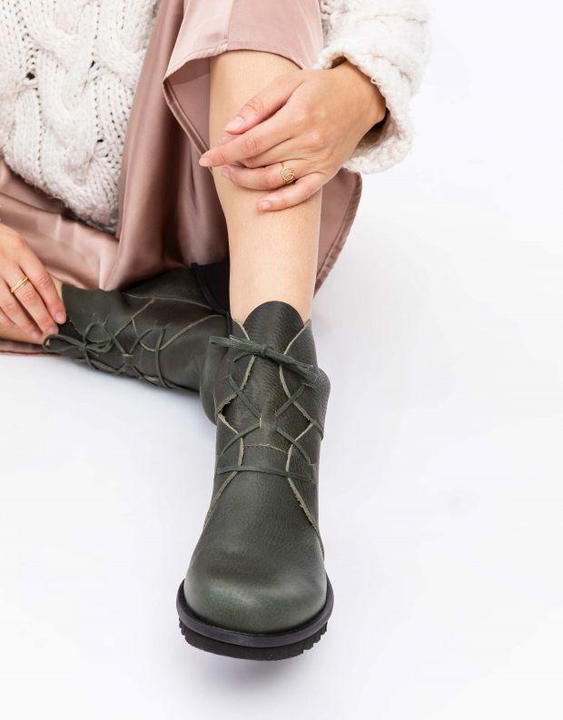 נעלי נשים - loints of Holland - מגפון Lightning Wijdte - ירוק