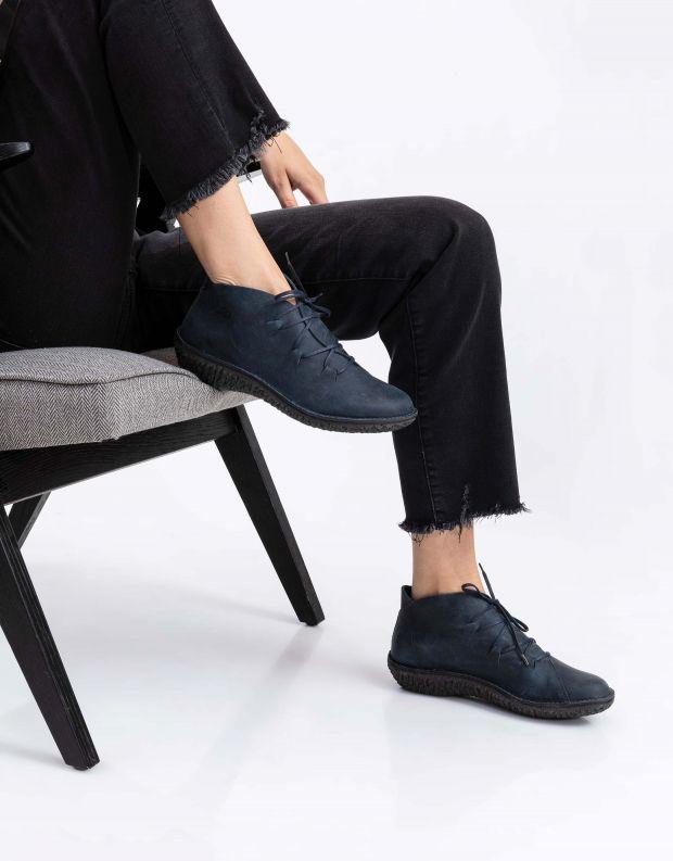 נעלי נשים - loints of Holland - נעליים גבוהות FUSION - כחול