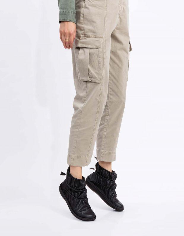 נעלי נשים - loints of Holland - מגפוני כיווצים CARACTER - שחור