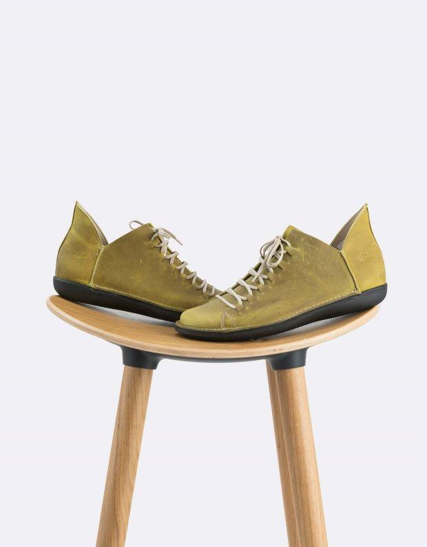 נעלי נשים - loints of Holland - נעל NATURAL - ירוק בהיר