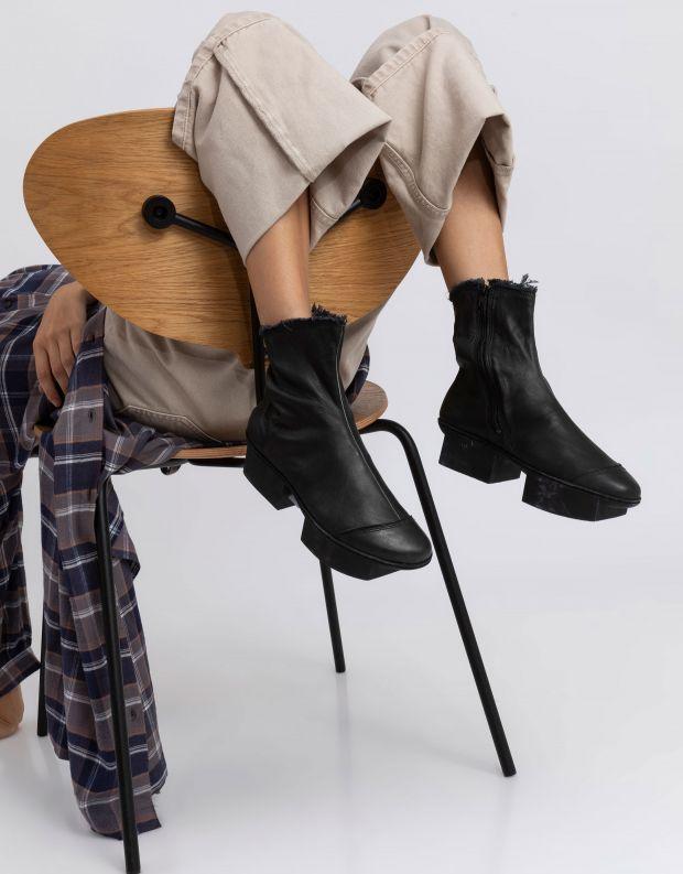 נעלי נשים - Trippen - מגפון NINA BOX - שחור