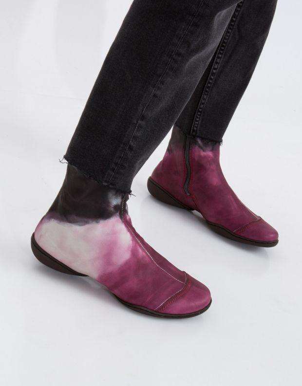 נעלי נשים - Trippen - מגפון SHADE CUP - סגול   חום
