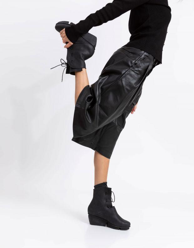 נעלי נשים - Trippen - מגפוני עור  SHARE SPLITT - שחור