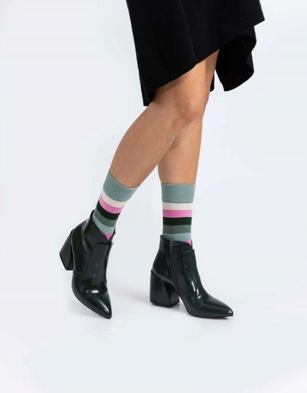 נעלי נשים - Jeffrey Campbell - מגפונים BENTLEE LO - ירוק