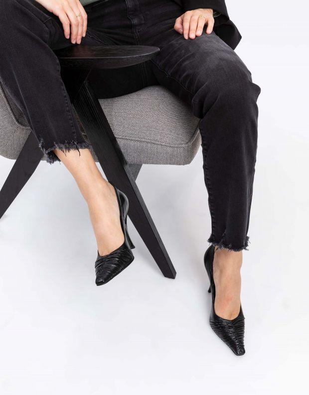 נעלי נשים - Jeffrey Campbell - נעלי סירה AMELIA - שחור