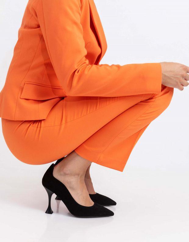 נעלי נשים - Jeffrey Campbell - נעלי סירה זמש DISARRAY - שחור