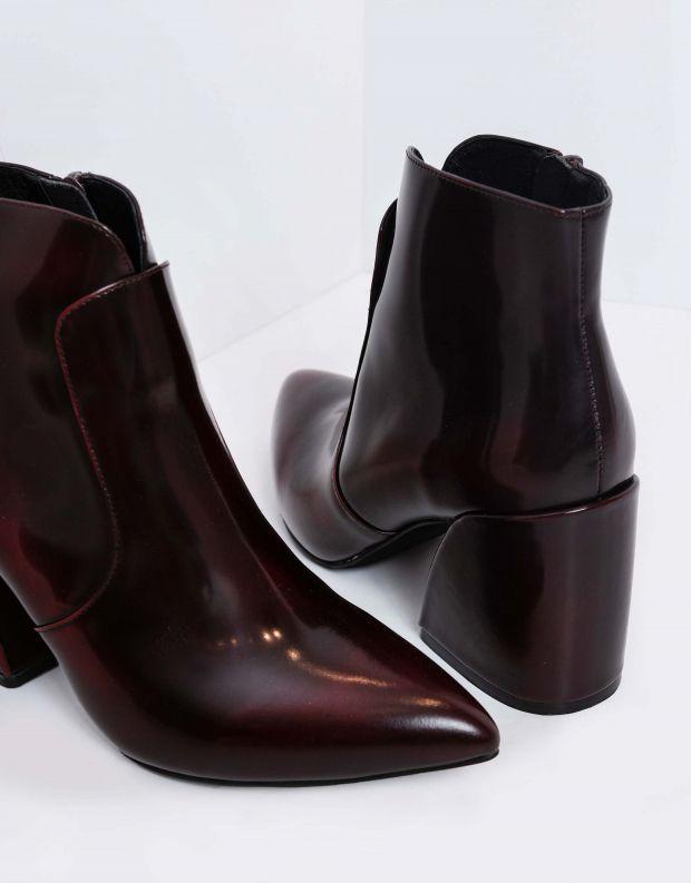 נעלי נשים - Jeffrey Campbell - מגפונים BENTLEE LO - בורדו
