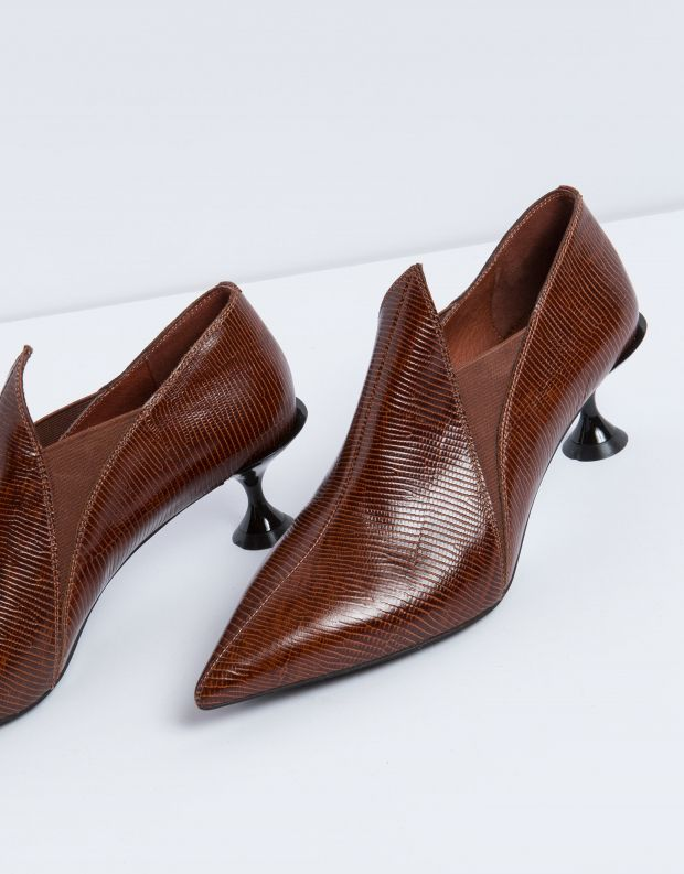 נעלי נשים - Jeffrey Campbell - נעל COUNT - חום