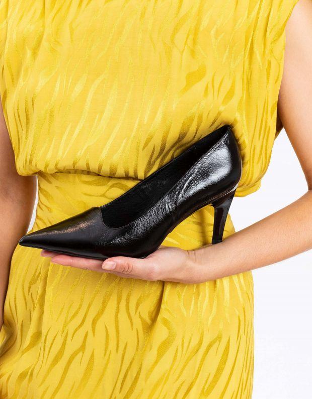 נעלי נשים - Jeffrey Campbell - סירה DEW TELL - שחור מיוחד