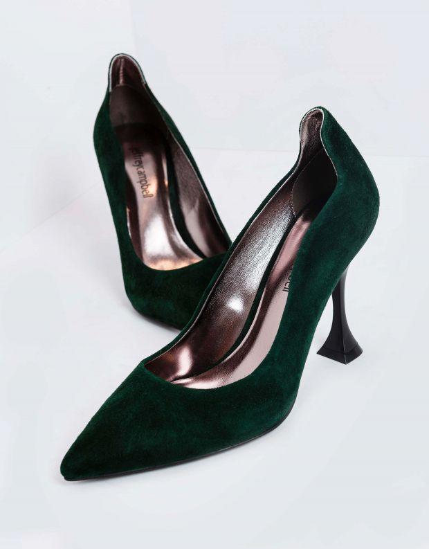 נעלי נשים - Jeffrey Campbell - נעלי סירה זמש DISARRAY - ירוק