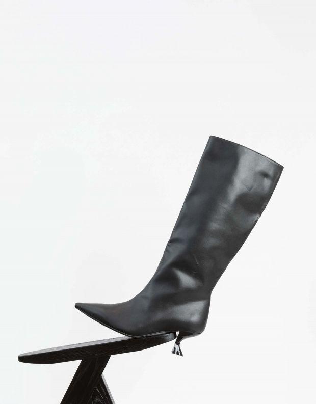 נעלי נשים - Jeffrey Campbell - מגפיים טבעוניים GERMANY - שחור