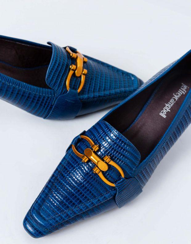 נעלי נשים - Jeffrey Campbell - נעלי סירה HYSTERIC - כחול