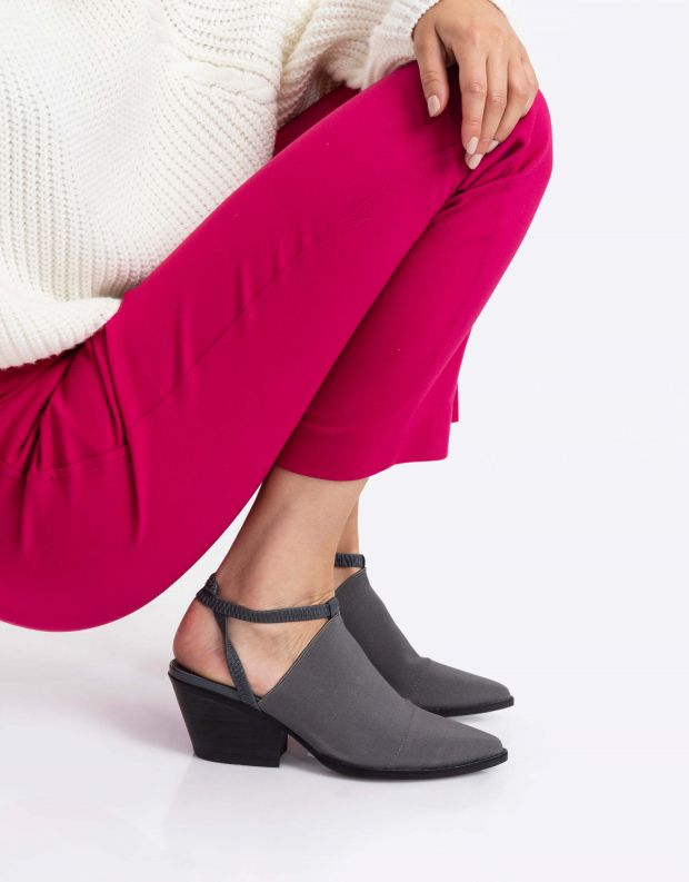 נעלי נשים - Jeffrey Campbell - נעלי ELASTO - אפור