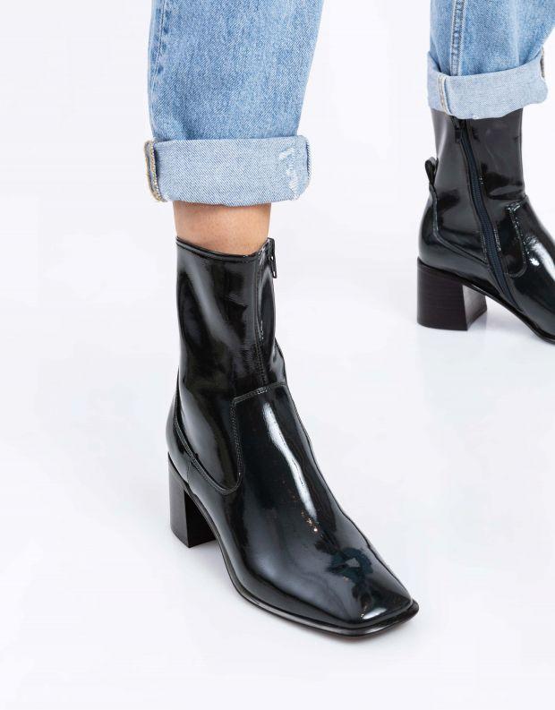נעלי נשים - Jeffrey Campbell - מגפוני לק JEREM - ירוק