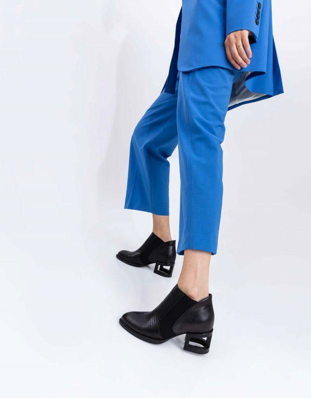 נעלי נשים - Jeffrey Campbell - מגפון DUVAL - שחור מיוחד
