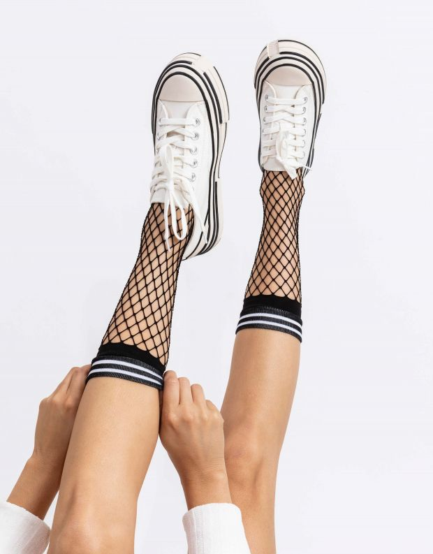 נעלי נשים - Jeffrey Campbell - סניקרס ENDORPHIN - לבן
