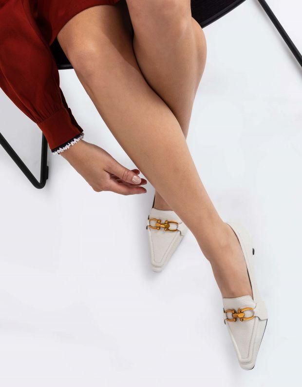 נעלי נשים - Jeffrey Campbell - נעלי סירה HYSTERIC - אופוויט