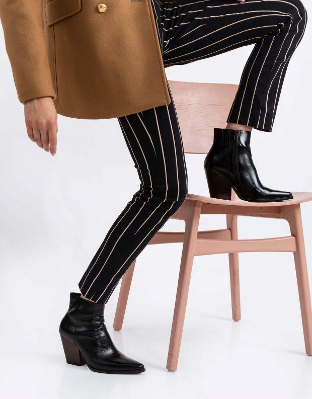 נעלי נשים - Jeffrey Campbell - מגפוני בוקרים ELEVATED - שחור