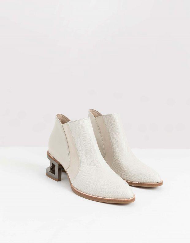 נעלי נשים - Jeffrey Campbell - מגפון DUVAL - אופוויט