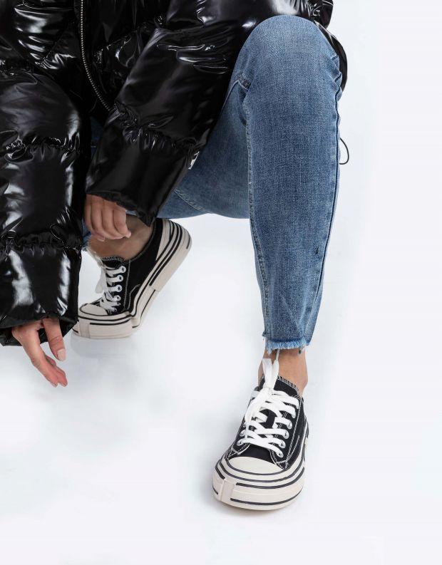 נעלי נשים - Jeffrey Campbell - סניקרס ENDORPHIN - שחור