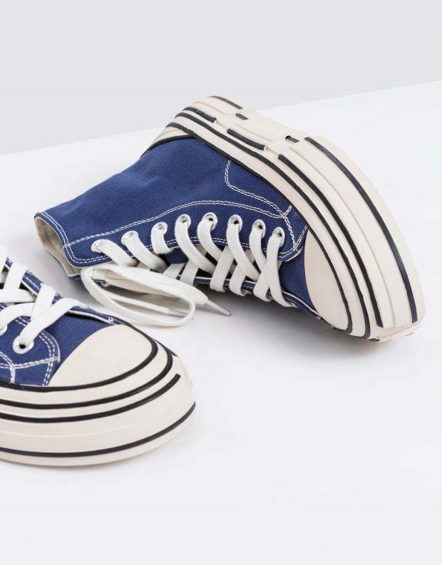 נעלי נשים - Jeffrey Campbell - סניקרס גבוהות ENDORPHIN - כחול