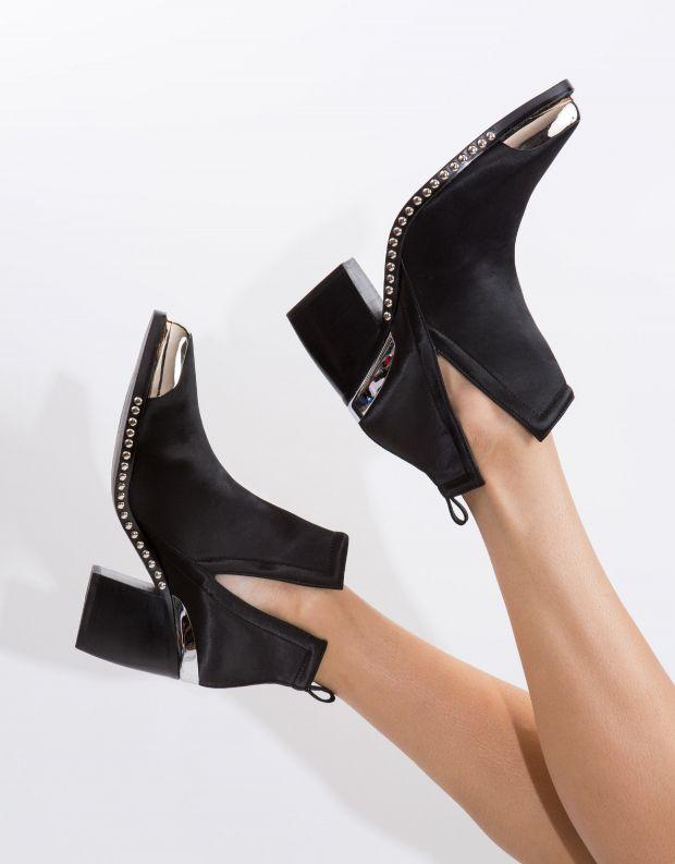 נעלי נשים - Jeffrey Campbell - מגפון OPTIMUM - שחור