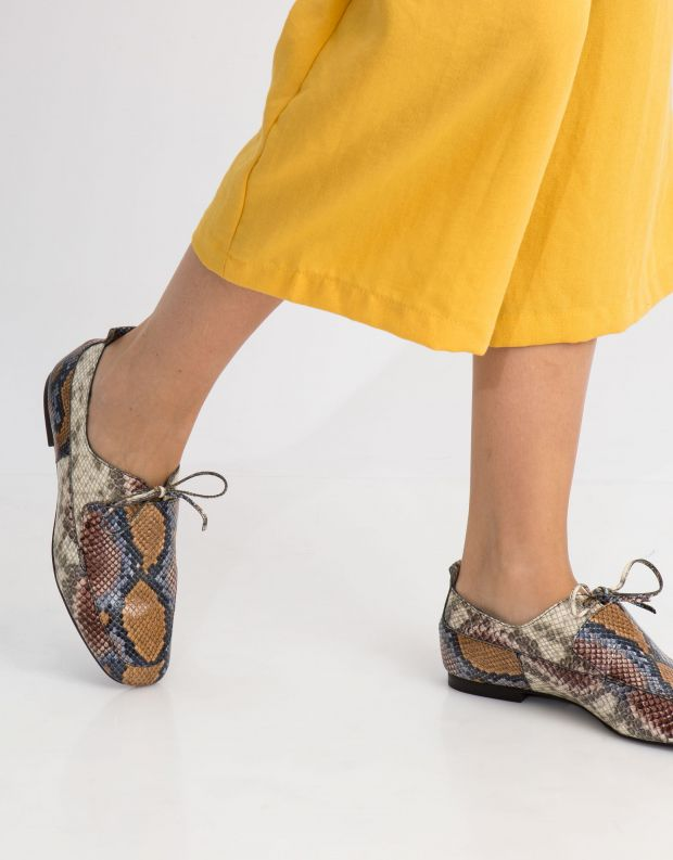 נעלי נשים - Jeffrey Campbell - נעל WEBBER - נחש צבעוני