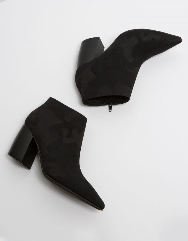 נעלי נשים - Jeffrey Campbell - מגפון TOTAL - שחור