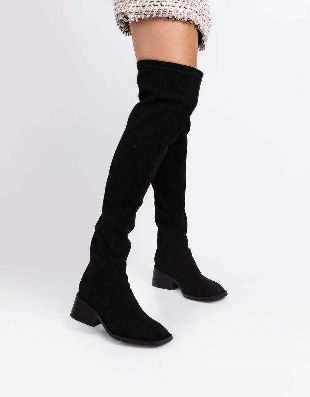 נעלי נשים - Jeffrey Campbell - מגפיים גבוהים PATRIK - שחור