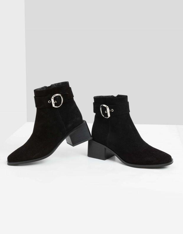 נעלי נשים - Jeffrey Campbell - מגפונים REGAN - שחור