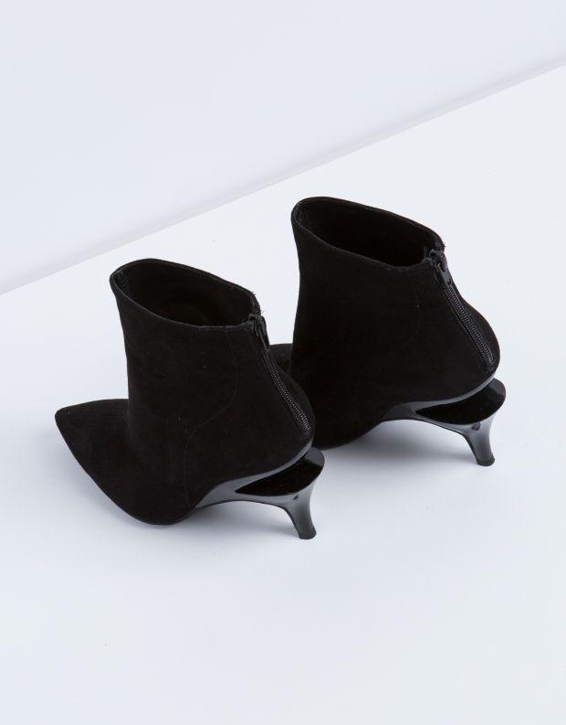נעלי נשים - Jeffrey Campbell - מגפון MUSEUM - שחור