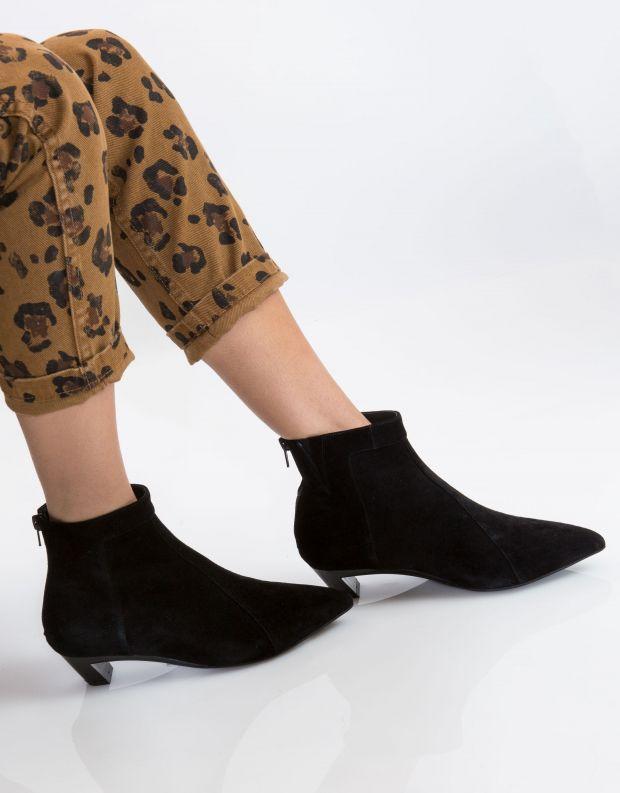 נעלי נשים - Jeffrey Campbell - מגפון MISTRESS - שחור