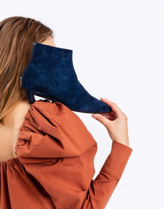 נעלי נשים - Jeffrey Campbell - מגפון MISTRESS - כחול