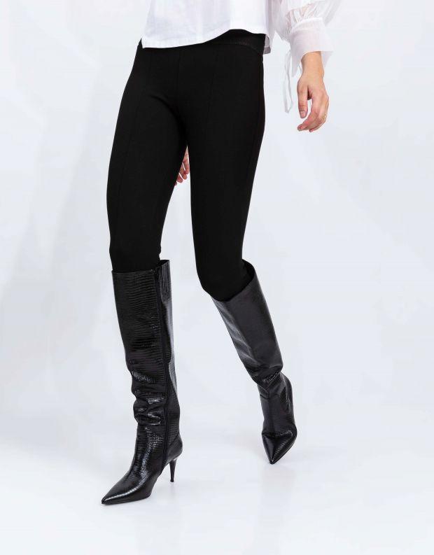 נעלי נשים - Jeffrey Campbell - מגפי עקב PARALLEL - שחור