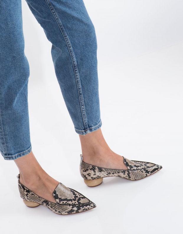 נעלי נשים - Jeffrey Campbell - נעל VIONA - חום נחש