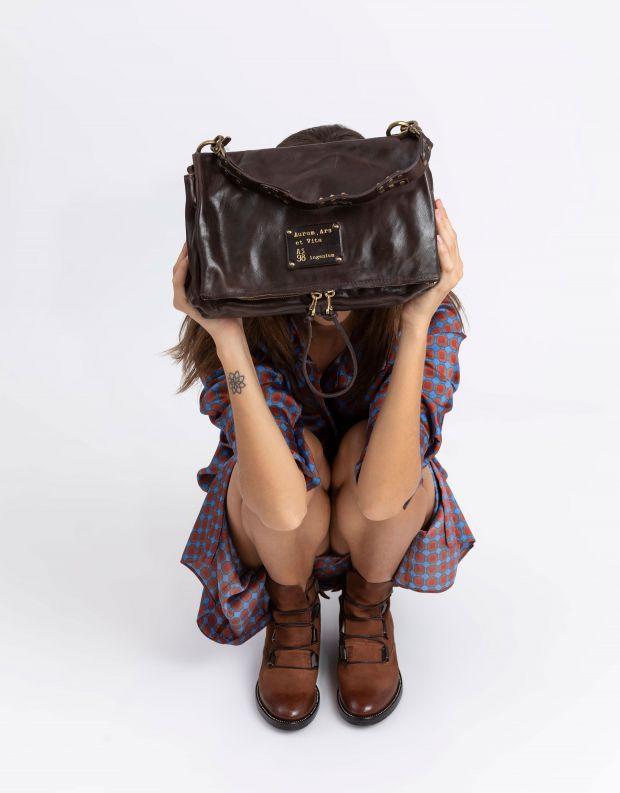 נעלי נשים - A.S. 98 - תיק BUSINESS AND PLEASURE - חום