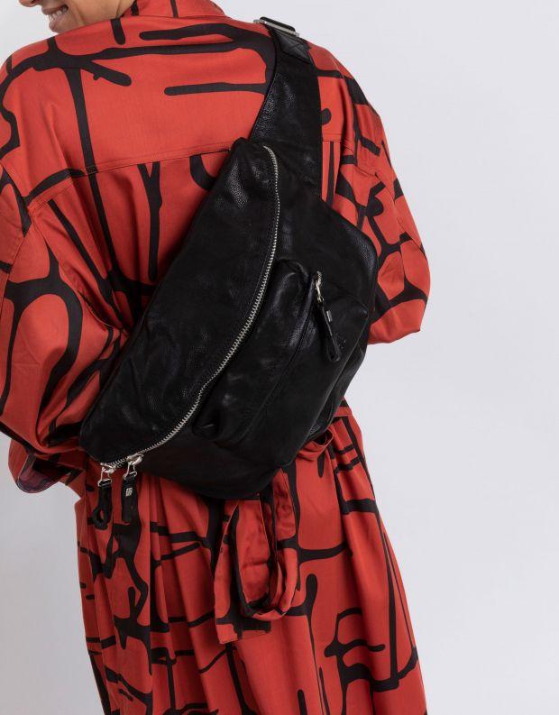 נעלי נשים - A.S. 98 - תיק פאוץ' גדול - שחור
