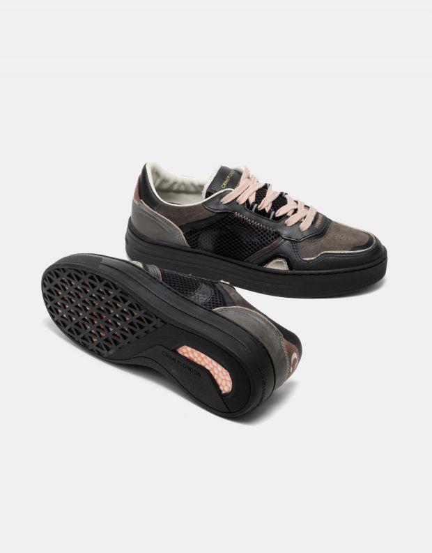 נעלי נשים - Crime London - סניקרס DRIBBLE - שחור