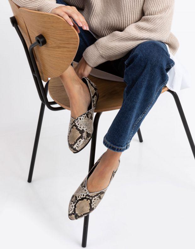 נעלי נשים - Yuko Imanishi - נעל IBUKU - נחש