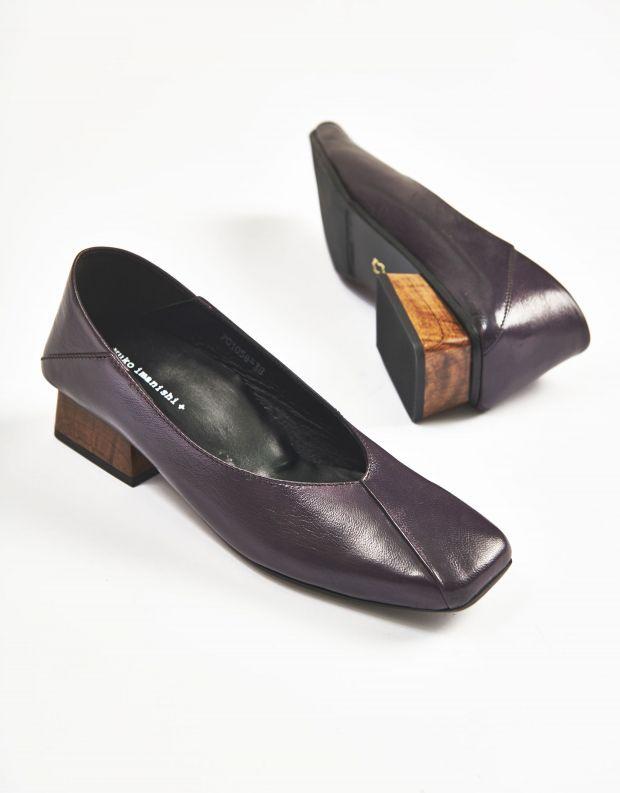 נעלי נשים - Yuko Imanishi - נעלי סירה MIO - סגול