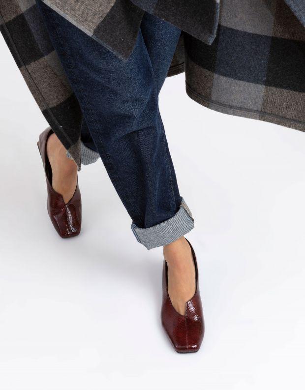נעלי נשים - Yuko Imanishi - נעלי סירה KAZUHO - בורדו