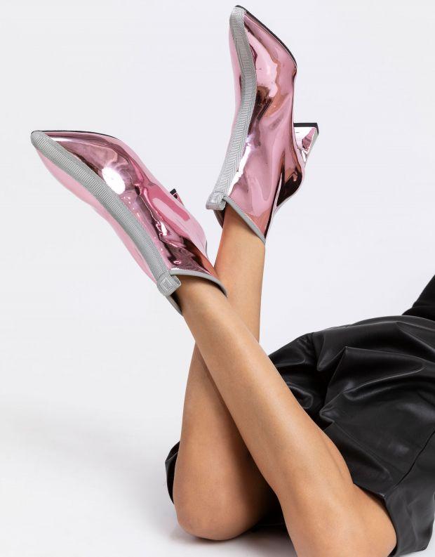 נעלי נשים - United Nude - מגפוני עקב לק LUCID MOLTE - לילך