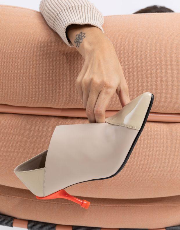 נעלי נשים - United Nude - נעלי עקב SQUARE PUMP MID - ניוד