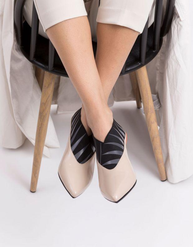 נעלי נשים - United Nude - מגפוני עקב COLLAR MID - ניוד